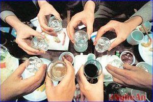 Uống rượu say, tử vong vào sáng mồng 1 Tết