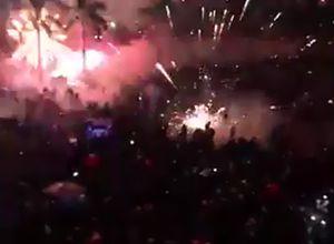 Quảng Ngãi: Pháo hoa bắn vào chỗ người xem, 6 người nhập viện cấp cứu