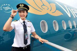 Những nữ phi công xinh đẹp chinh phục bầu trời