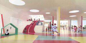 Ngôi trường Hồng Kông có thiết kế hết sức đặc biệt giúp trẻ rèn luyện sức khỏe
