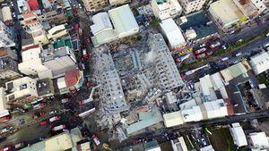 Chất lượng xây dựng kém khiến sập tòa nhà cao tầng ở Đài Loan