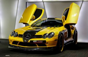 "Mercedes SLR McLaren độ ""siêu dị"" của dân chơi Dubai"