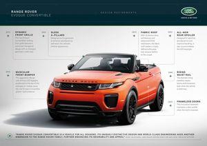 Range Rover Evoque mui trần được phụ nữ Anh ưa chuộng