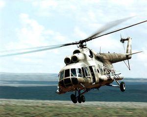 Trực thăng Mi-8 của Nga rơi, 4 người thiệt mạng