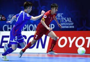 Tuyển futsal Việt Nam ra quân thắng lợi tại giải châu Á