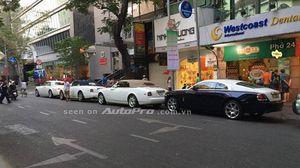 Loạt siêu xe xuất hành đầu năm mới tại Sài Thành