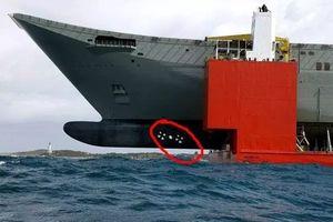 Vì sao tàu chiến hiện đại luôn có mũi to và dài?