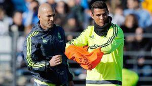 Có Zidane, Real Madrid đã cười trở lại