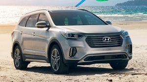 Hyundai vén màn SantaFe và SantaFe Sport 2017