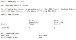 MSCI thêm 1 và không loại mã nào khỏi chỉ số đầu tư vào 9 cổ phiếu Việt Nam