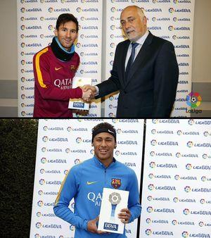 Messi lần đầu giành giải hay nhất tháng ở La Liga