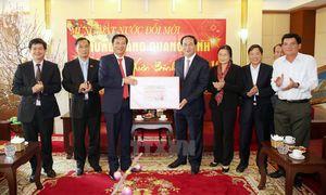 Các vị lãnh đạo thăm và chúc Tết tại tỉnh Hà Nam, Quảng Ninh