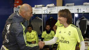 Modric công khai 'dìm hàng' Zidane