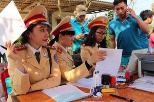 Quảng Bình xử phạt 100 trường hợp vi phạm giao thông