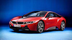 BMW i8 Protonc Red Edition chuẩn bị ra mắt