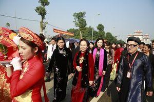 Lễ hội kỷ niệm 1976 năm khởi nghĩa Hai Bà Trưng