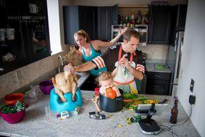 Cười ngất trước trước chùm ảnh chân thực đến khó tin về cuộc sống gia đình