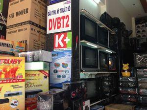 Thị trường đầu thu số DVB-T2 nhộn nhịp đón ngày tắt sóng analog