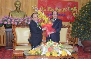 Phó Thủ tướng Nguyễn Xuân Phúc thăm và chúc Tết tại Hà Nam