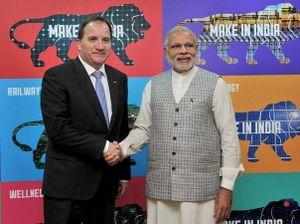 Ấn Độ-Thụy Điển tăng cường hợp tác trong các vấn đề chiến lược
