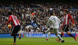 Ronaldo lập cú đúp, Real vượt ải Bilbao