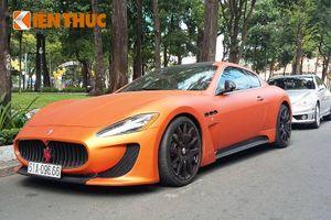 """Xế sang tiền tỷ, màu """"độc"""" Maserati GranTurismo tại VN"""
