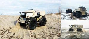 Sherp ATV - 'Xe tăng tí hon' của Nga thách thức mọi địa hình [VIDEO]