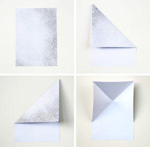 Gấp origami hình trái tim vụng mấy cũng thành xinh