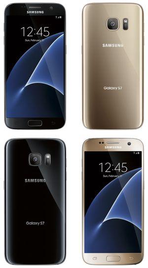 Bộ đôi Galaxy S7 lộ ảnh báo chí