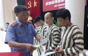 Hà Nội, TPHCM: Giảm án, tha tù trước thời hạn cho nhiều phạm nhân
