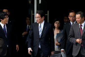 Ngoại trưởng Nhật đến Trung Quốc