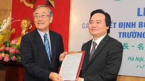 Lần đầu tiên ĐHQG Hà Nội bổ nhiệm Hiệu trưởng là người nước ngoài