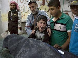 Ảnh chiến sự đẫm máu ở Aleppo tuần qua, gây chấn động