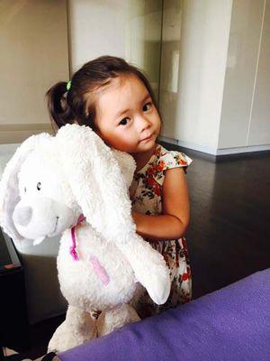 Đoan Trang tự hào vì con gái tình cảm, có trí nhớ tốt