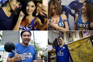 Người đẹp Thái xinh như mộng mừng Leicester vô địch