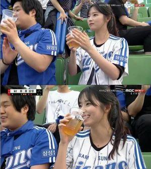 Loạt girl xinh bị chụp trộm trên sân bóng chày Hàn Quốc