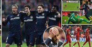 Bayern 2-1 Atletico: Hùm xám 'chết đứng', Guardiola thành tội đồ