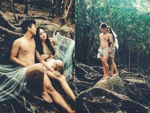 Trọn bộ ảnh cưới nude của cặp đôi Đà Nẵng