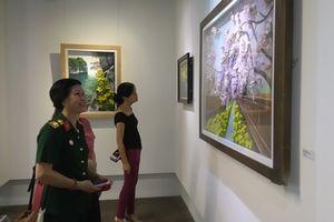 Mãn nhãn với triển lãm tranh hoa đất Việt – Hàn