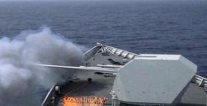 Khu trục hạm hiện đại nhất Trung Quốc nã pháo ở Biển Đông