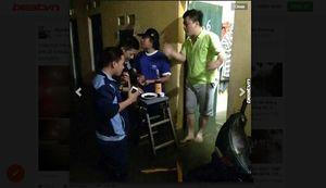 Hài hước ảnh chế Hà Nội ngập lụt sau cơn mưa lớn