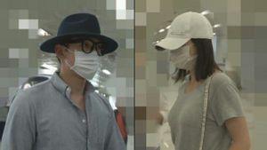 Lộ ảnh Kim Tae Hee - Bi Rain trở về sau kỳ nghỉ cùng nhau