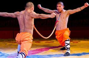 Sửng sốt tài nghệ của các võ sư Thiếu Lâm tự