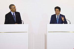 Tổng thống Obama và Thủ tướng Abe nói cứng về biển Đông