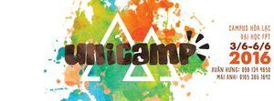 Bạn có muốn hè này trải nghiệm hội trại Unicamp và học thêm nhiều kỹ năng?