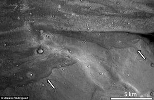Sao Hỏa từng bị sóng thần càn quét thảm khốc?