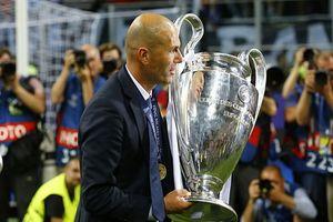 """Chiếc cúp Champions League tôn vinh """"người hùng"""" Zidane"""
