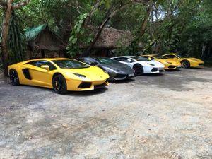 """Cường """"Đô-la"""" góp mặt trong đoàn siêu xe hơn 80 tỷ Đồng tụ tập tại Đồng Nai"""