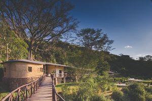 Ngắm khu nghỉ dưỡng xa hoa giữa công viên hoang dã
