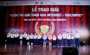 Hơn 2.100 học sinh được vinh danh trong Lễ trao giải ViOlympic